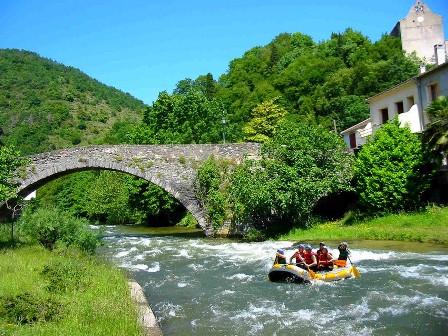 Itinéraire Rafting sur l'Aude